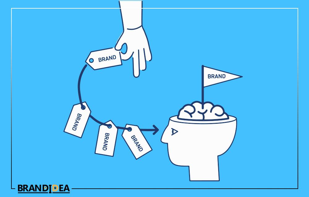 ماندگاری برند brand در ذهن مخاطب