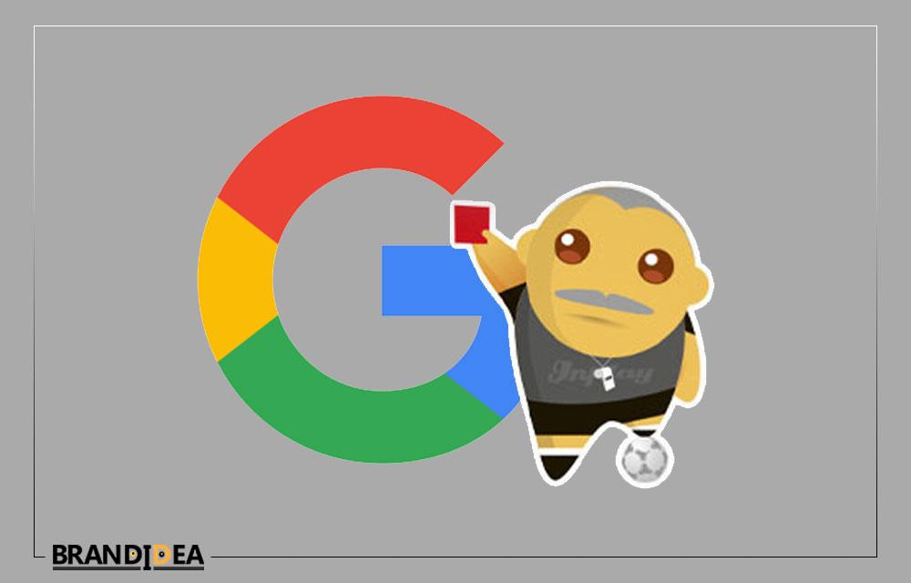 جریمه شدن توسط الگوریتم های گوگل