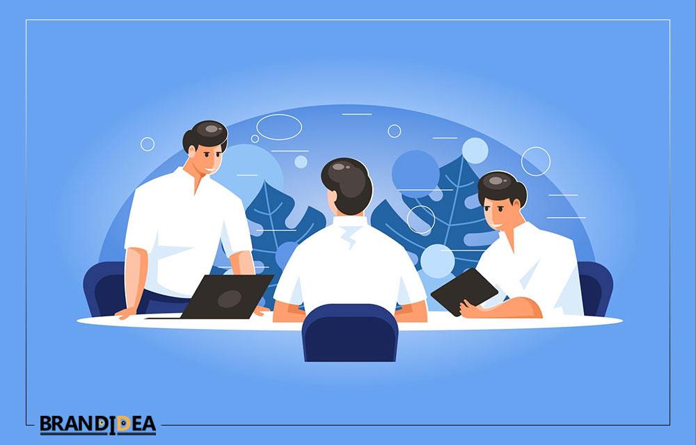 تیم تشکیل دهنده شرکت